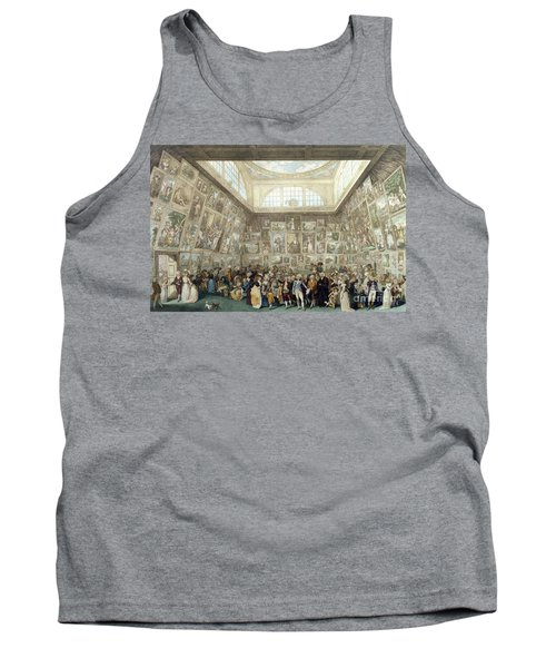 The Exhibition Of The Royal Academy, 1787 Tank Top