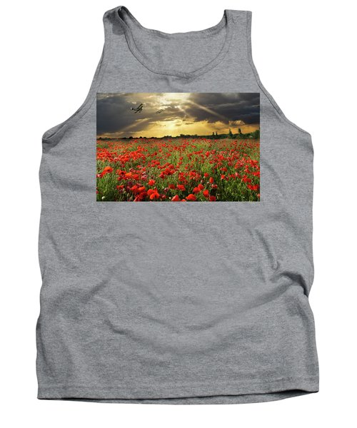Tank Top featuring the photograph The Final Sortie Wwi Version by Gary Eason