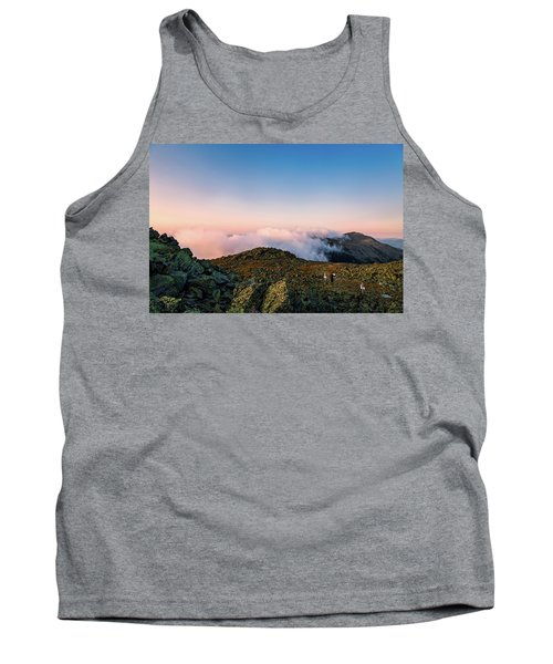 The Hiker - Mt Jefferson, Nh Tank Top