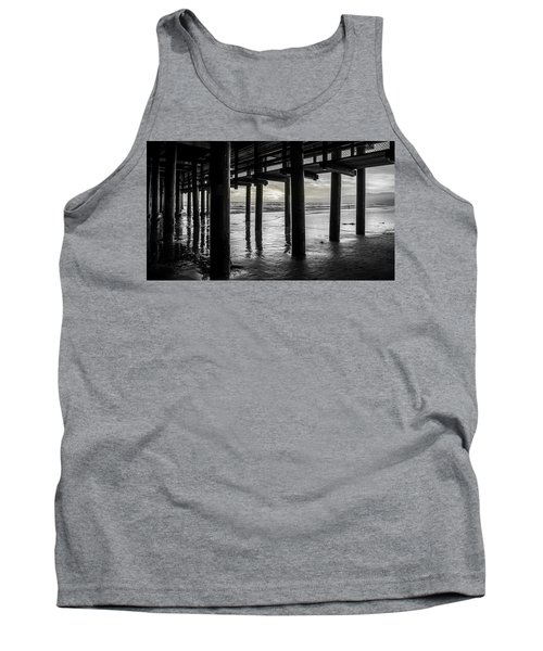 The Light Downunder - B And W Tank Top