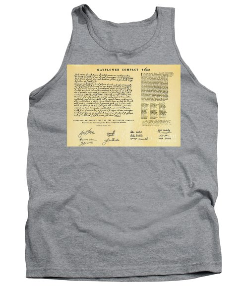 The Mayflower Compact  Tank Top