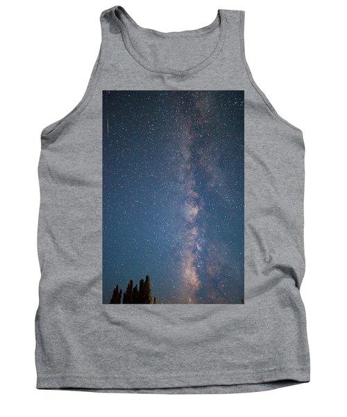 The Milky Way In Arizona Tank Top