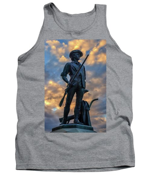 The Minute Man Tank Top