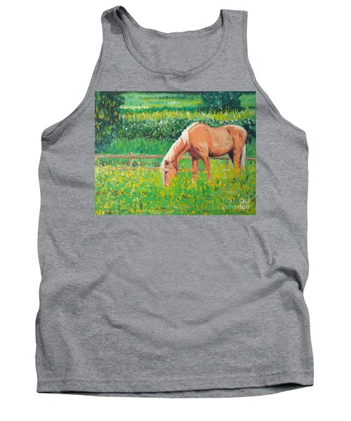 The Palomino And Buttercup Meadow Tank Top
