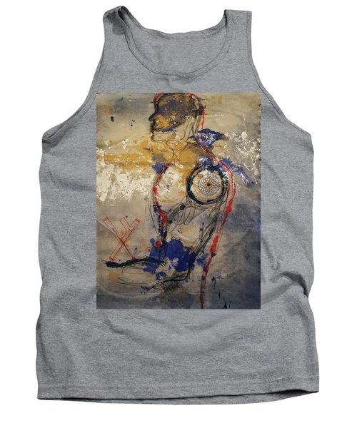 The Protector Of The Sacred Feminine  Tank Top
