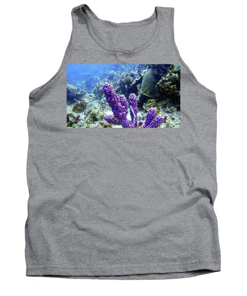 The Purple Sponge Tank Top