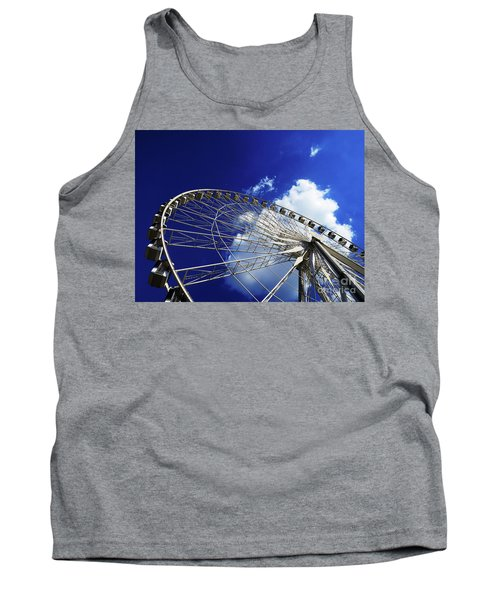 Tank Top featuring the photograph The Ride To Acrophobia by Rick Locke