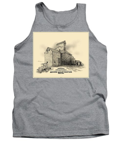 The Ross Elevator Version 2 Tank Top