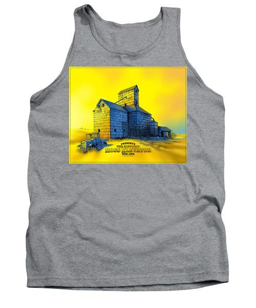 The Ross Elevator Version 4 Tank Top