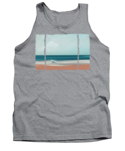 The Sea Says - Abstract Seascape Tank Top