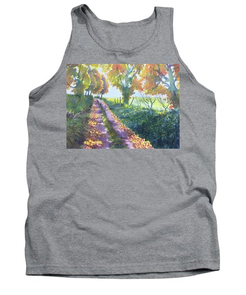 The Tunnel In Autumn Tank Top