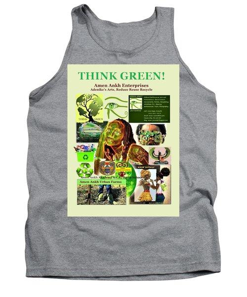 Think Green Tank Top