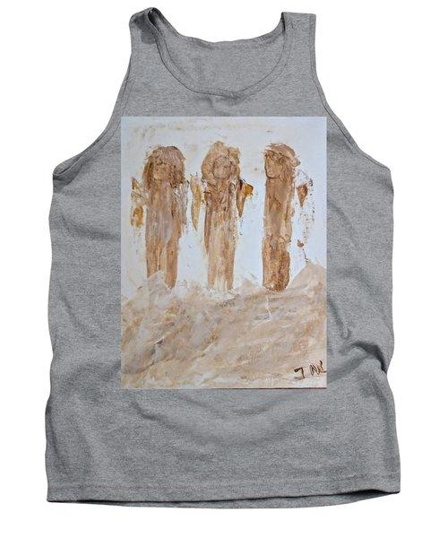 Three Little Muddy Angels Tank Top