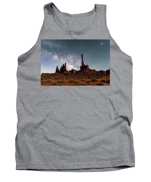 Totem Pole, Yei Bi Che And Milky Way Tank Top