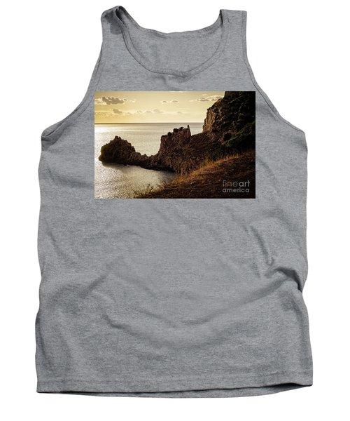 Tranquil Mediterranean Sunset    Tank Top