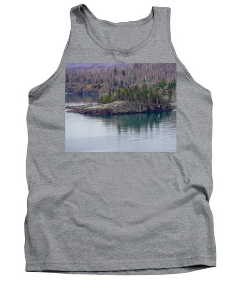 Tranquility In Silver Bay Tank Top
