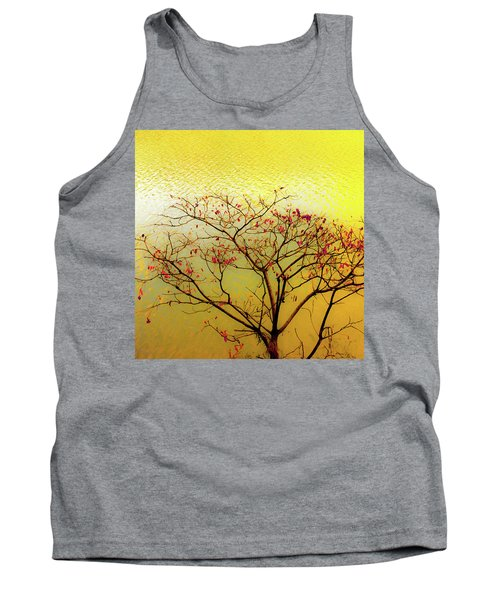 Tree And Water 2 Tank Top