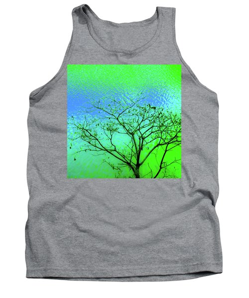 Tree And Water 3 Tank Top