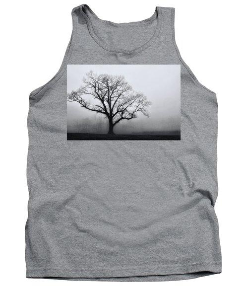 Trees In Fog # 2 Tank Top