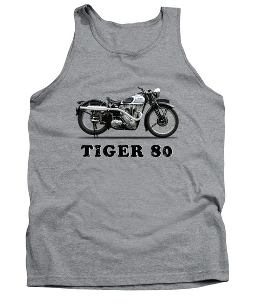 Triumph Tiger 80 - 1937 Tank Top