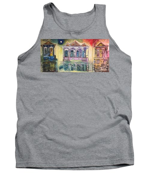 Tryptic On The Bayou New Orleans Tank Top