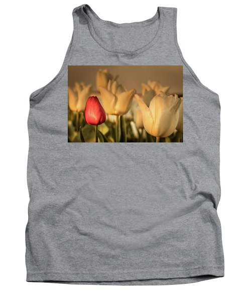 Tank Top featuring the photograph Tulip Field by Anjo ten Kate