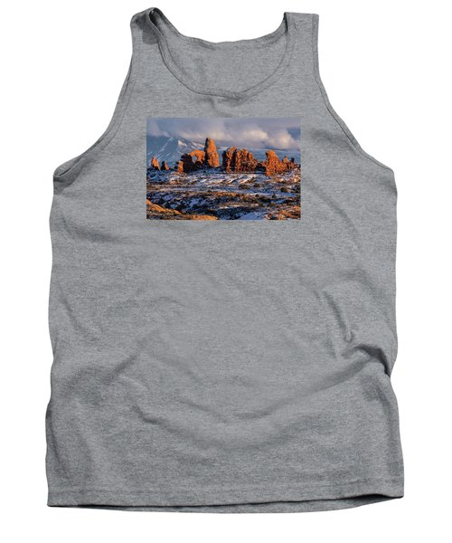 Turret Arch Winter Sunset Tank Top