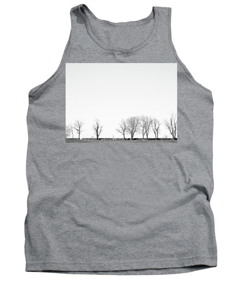 Under A Winter Sky Tank Top