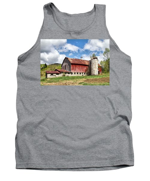 Vermont Barn And Silo  Tank Top