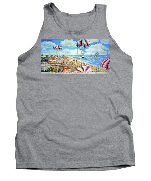 View From Parachute Jump Towel Version Tank Top