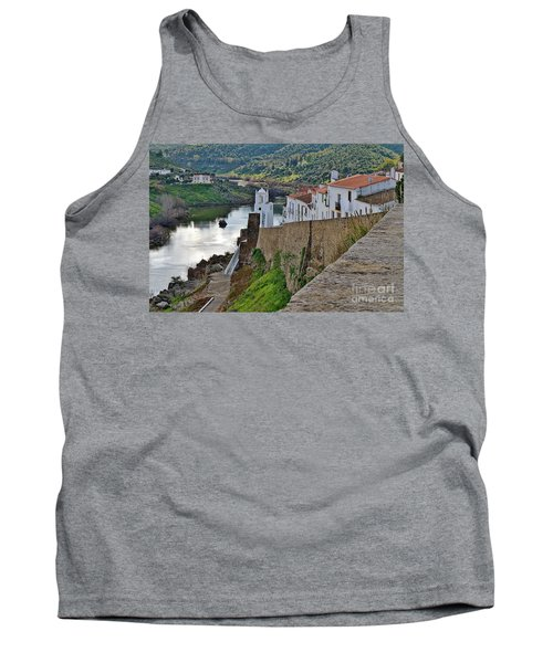 View From The Medieval Castle Tank Top