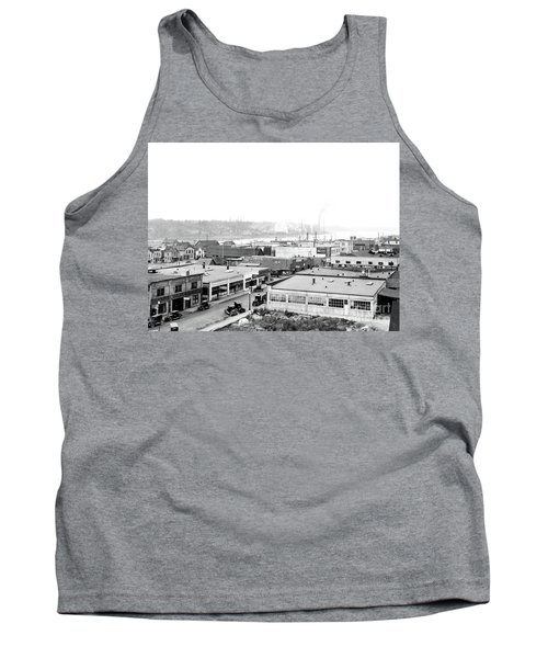 View Nw Over Olympia From Elks Building On Capitol Way 1929 Tank Top