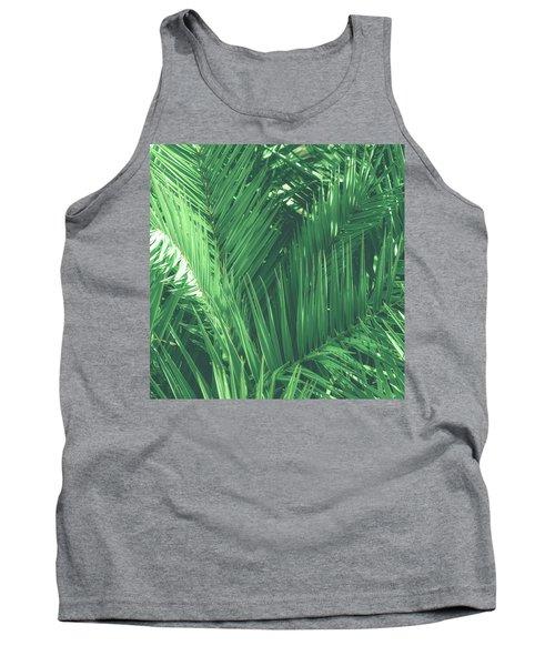 Vintage Palms I Tank Top