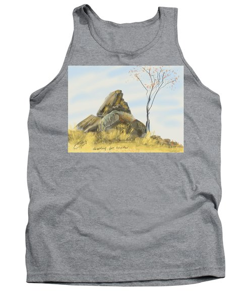 Waiting For Winter Tank Top