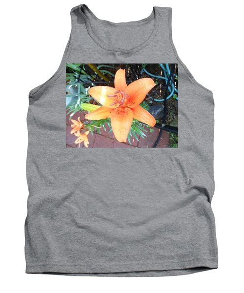 Waiting Lily  Tank Top