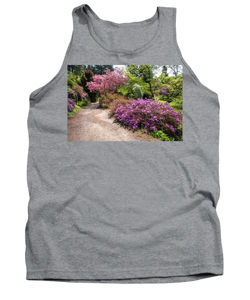 Walk In Spring Eden. Colorful Path 3 Tank Top