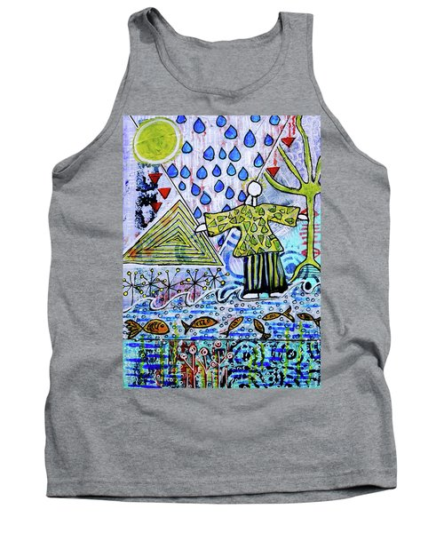 Walking On Water Tank Top