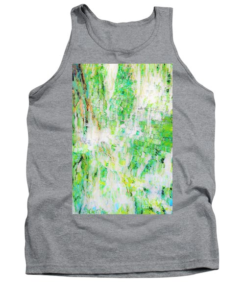 Water Colored  Tank Top