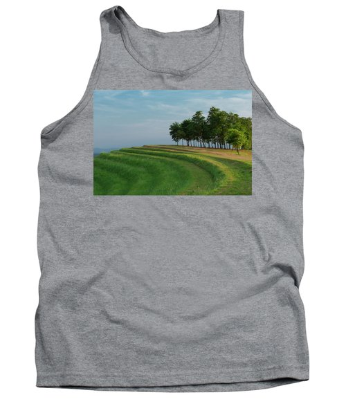 Waves Of Grass Tank Top