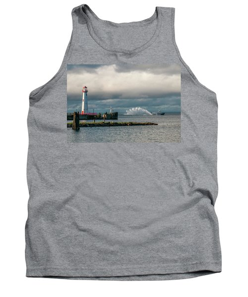 Wawatam Lighthouse Tank Top