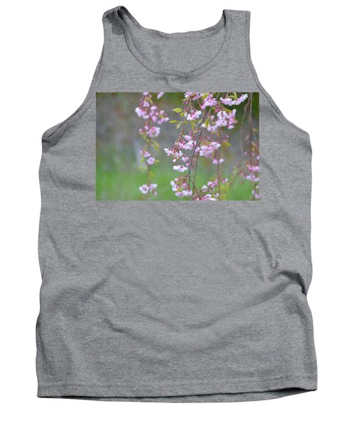 Weeping Cherry Blossoms Tank Top