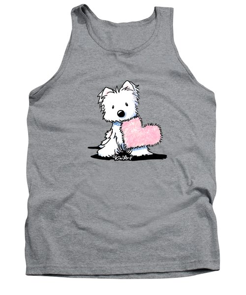Westie Heart And Soul Tank Top