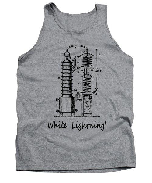 White Lightning Still Diagram - T-shirt Tank Top
