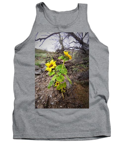 Wild Desert Sunflower Tank Top