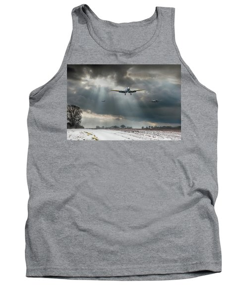 Tank Top featuring the photograph Winter Homecoming by Gary Eason