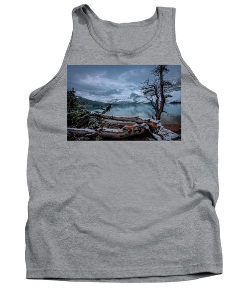 Winter Is Coming Bow Lake Tank Top