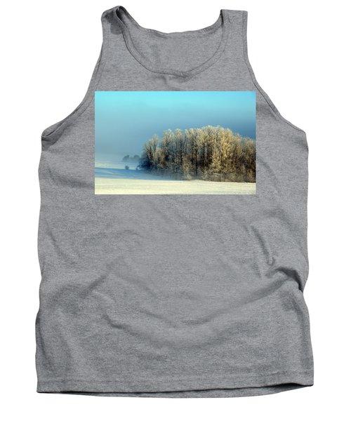 Winter's Heavy Frost Tank Top