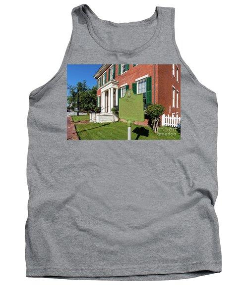 Woodrow Wilson Boyhood Home - Augusta Ga 1 Tank Top