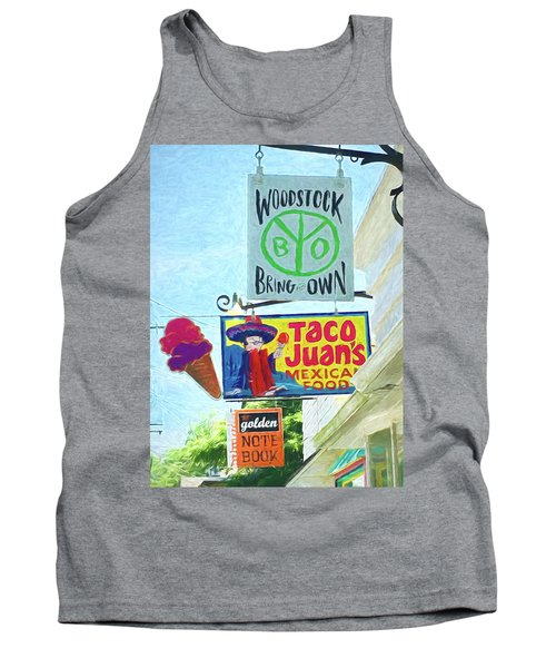 Woodstock Peace And Love 2 Tank Top