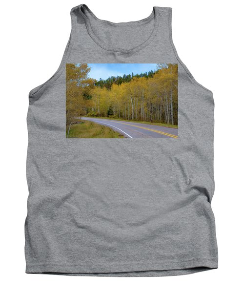 Yellow Aspens Tank Top